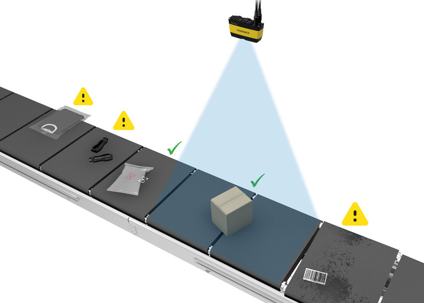 Cognex Launches 3D-A1000 Item Detection System Detects objects on logistics sorter trays with unmatched accuracy