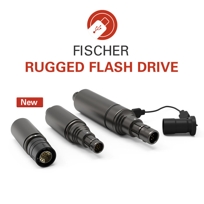 Fischer Rugged Flash Drive now five times faster with USB 3.0
